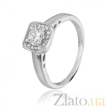 Серебряное кольцо с цирконием Беата 000028071