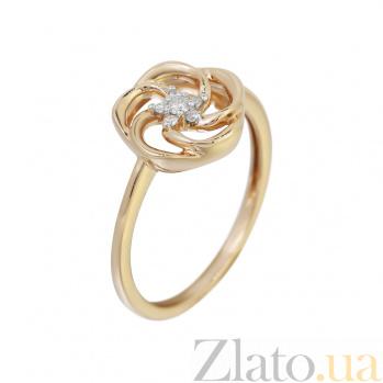 Золотое кольцо с бриллиантами Патрисия 000032292