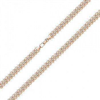 Браслет из красного золота фантазийного плетения, 4,5 мм 000143815