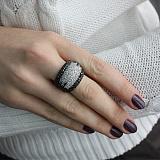 Серебряное кольцо Капелла