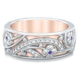 Обручальное кольцо Восторг: Ласковый рассвет