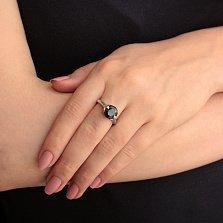 Серебряное кольцо Искушение с цирконием
