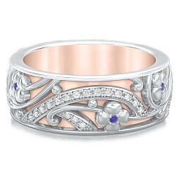 Обручальное кольцо Восторг: Ласковый рассвет 000010906