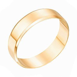 Обручальное кольцо из желтого золота 000121439