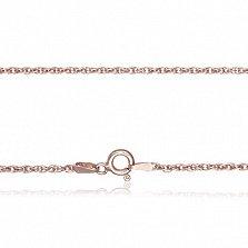 Серебряная цепь Монреаль с позолотой, 2 мм, 55 см