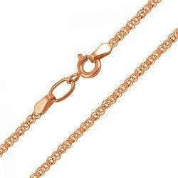 Золотая цепь в плетении нонна, 1,5мм 000064527