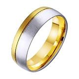 Золотое обручальное кольцо Успех