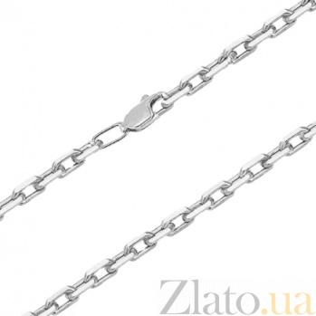 Серебряная цепочка Якорная, 3мм 000017323