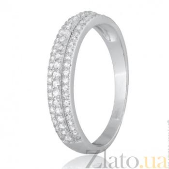 Серебряное кольцо с цирконием Электра SLX--КК2Ф/212