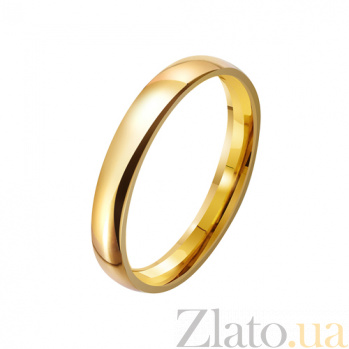 Золотое обручальное кольцо Вечные традиции TRF--431236