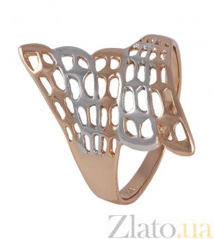 Серебряное кольцо Крылья 000025452