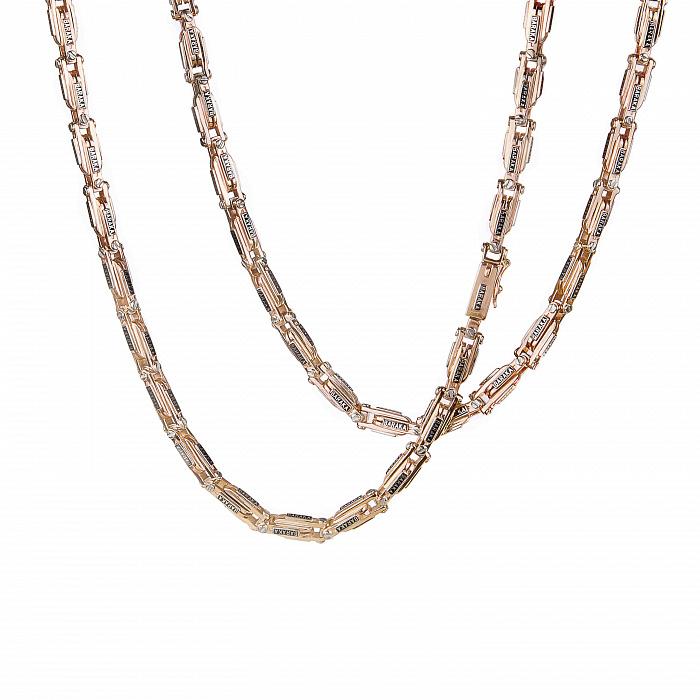 Золотая цепь Baraka Самарканд в комбинированном цвете 000068457