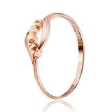 Позолоченное серебряное кольцо Вестита