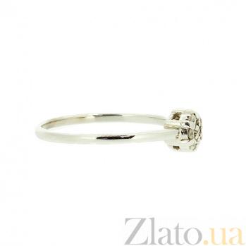Кольцо из белого золота с бриллиантами Винея 000021461
