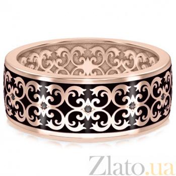 Мужское обручальное кольцо из розового золота Калейдоскоп Любви: В ожидании Чуда 3437