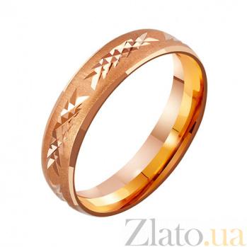 Золотое обручальное кольцо Время любви TRF--4111097
