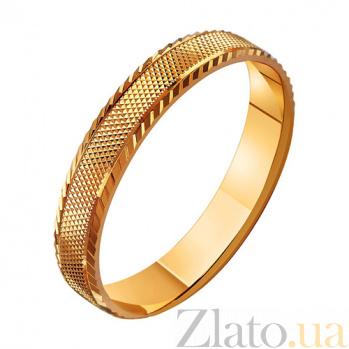 Золотое обручальное кольцо Поэма о любви TRF--411027