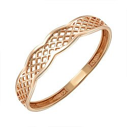 Кольцо из красного золота 000149341