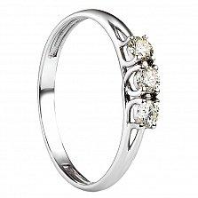 Обручальное кольцо Таити с бриллиантами