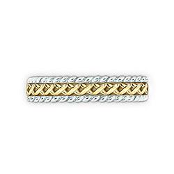 Кольцо из комбинированного золота Центр вечных сил