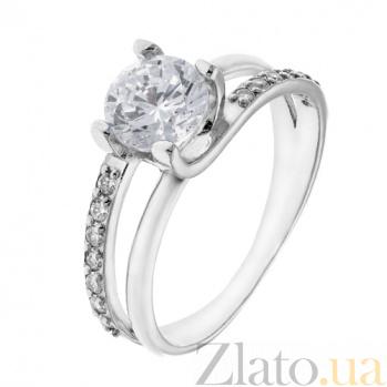 Серебряное кольцо с фианитами Стеффани AUR--815006
