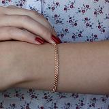 Золотой браслет Ментер, 3,5мм
