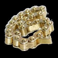 Золотой браслет Цепь с гравировкой в стиле Харли Дэвидсон