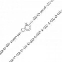 Серебряная цепочка с родием 000026177
