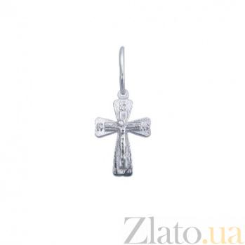 Серебряный крест Ангел Хранитель AQA--3131