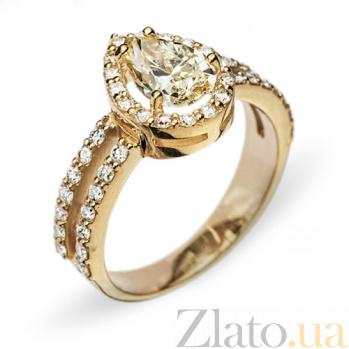 Золотое кольцо с бриллиантами Нариман R0495