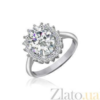 Кольцо из серебра с цирконием Анаит 000025516