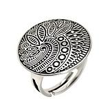Серебряное кольцо Энигма