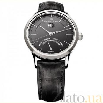 Часы Maurice Lacroix коллекции Les Classiques Jours Rétrogrades automatique MLX--LC6358-SS001-33E