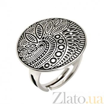 Серебряное кольцо Энигма BGS--763к