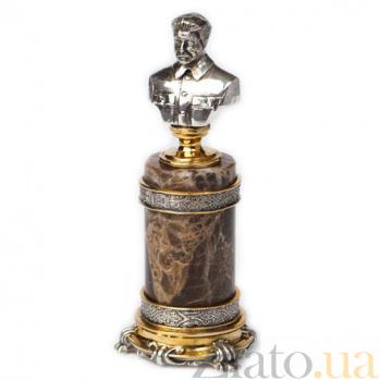 Серебряная статуэтка бюст Сталин 755