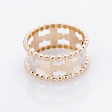 Золотое кольцо Веночек в стиле Ван Клиф