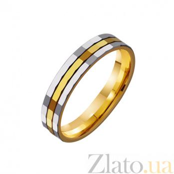 Золотое обручальное кольцо Любовь без границ TRF--4411681