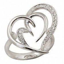 Кольцо Клеменси из белого золота с бриллиантами