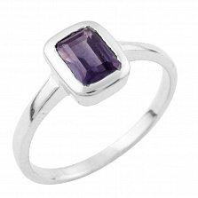 Серебряное кольцо Нильда с александритом