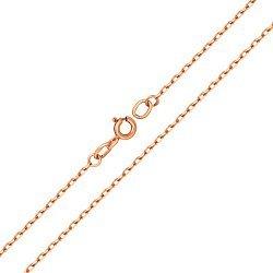 Серебряная цепочка Анталия в позолоте, 1,5мм