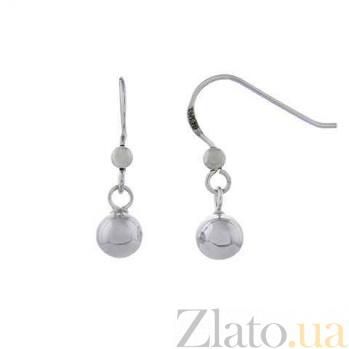 Серьги серебряные Шарона AQA--120540135/6