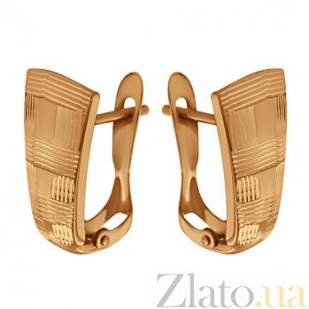 Серьги из красного золота Карелия TNG--470310