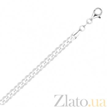 Серебряная цепь Тибальт, 65 см 000027398