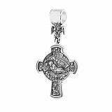 Серебряный крест Матерь Божья с чернением