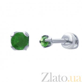 Серебряные серьги Гретта AQA--72305з