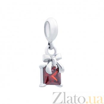 Серебряная бусина с подвеской Вита AQA--231520009/5-1R