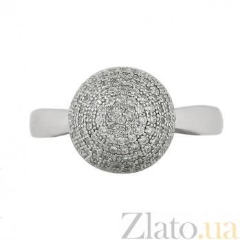 Серебряное кольцо с фианитами Ванесса 3К731-0074
