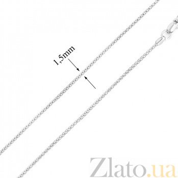 Серебряная цепочка Сан-Марко 1,5мм 000006677