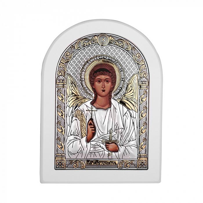 Икона Ангел Хранитель с серебрением 000140111 000140111