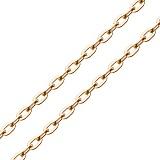 Золотая цепочка Грантана плоского якорного плетения